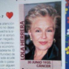 Coleccionismo de Revistas y Periódicos: RECORTE LOLA HERRERA. Lote 55082349