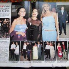 Coleccionismo de Revistas y Periódicos: RECORTE ROCIO DURCAL JUNIOR. Lote 55082380