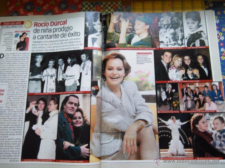 Coleccionismo de Revistas y Periódicos: recorte rocio durcal junior - Foto 2 - 55082380