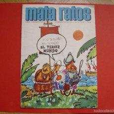 Coleccionismo de Revistas y Periódicos: MATA RATOS (Nº 261, 1973) REVISTA HUMOR. COLECCIONISTA. ORIGINAL. Lote 55105179