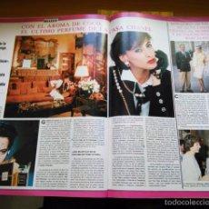 Coleccionismo de Revistas y Periódicos: RECORTE CHANNEL CHANEL COCO. Lote 55108808
