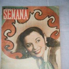 Coleccionismo de Revistas y Periódicos: ANTIGUA REVISTA SEMANA. NUMERO 426. MADRID, 20 ABRIL 1948. Lote 55109243