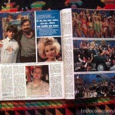 Coleccionismo de Revistas y Periódicos: UN,DOS,TRES, ROCIO DURCAL & JUNIOR, EVA PEDRAZA, CAROLINA DE MONACO, ALESSANDRA MUSSOLINI. Lote 55126057