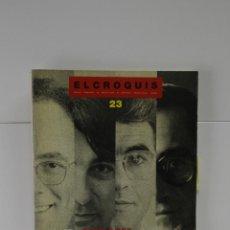 Coleccionismo de Revistas y Periódicos: EL CROQUIS N 23 1986 ARQUITECTURA STUDIO PER PEP BONET CRISTIAN CIRICI LLUIS CLOTET OSCAR TUSQUETS. Lote 277689613