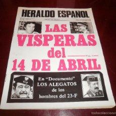 Coleccionismo de Revistas y Periódicos: REVISTA HERALDO ESPAÑOL. Nº 98, 2-8 DE JUNIO DE 1982. MUY BUEN ESTADO. LAS VÍSPERAS DEL 14 DE ABRIL. Lote 55225212