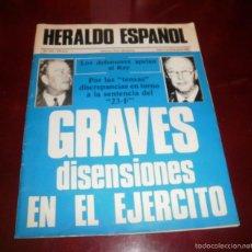 Coleccionismo de Revistas y Periódicos: REVISTA HERALDO ESPAÑOL. Nº 101, 23-29 DE JUNIO DE 1982. GRAVES DISENSIONES EN EL EJÉRCITO. BIEN. Lote 55225232