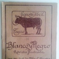 Coleccionismo de Revistas y Periódicos: REVISTA BLANCO Y NEGRO ABRIL DE 1915 NUM. 1248 (ILUSTRADA). Lote 55228468