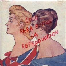 Coleccionismo de Revistas y Periódicos: FRANCIA- INGLATERRA 1917 ILUSTRACION HOJA REVISTA. Lote 55233745