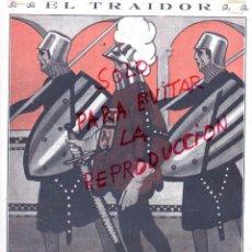 Coleccionismo de Revistas y Periódicos: MANCHON 1917 ILUSTRACION HOJA REVISTA. Lote 55234507