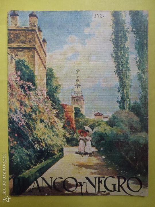 BLANCO Y NEGRO. NÚMERO 1738. AÑO 1924. (Coleccionismo - Revistas y Periódicos Antiguos (hasta 1.939))