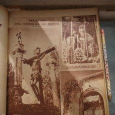 Coleccionismo de Revistas y Periódicos: BBY 1958 HOJA - SEMANA SANTA SEVILLA CRISTO BUENA MUERTE, VIRGEN DE LA AMARGURA, Y VIRGEN DE LA PAZ . Lote 55342690