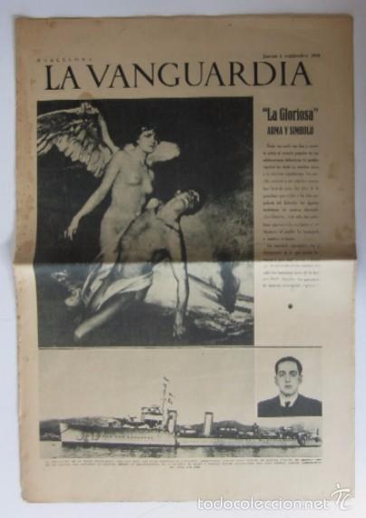 LA VANGUARDIA -AÑO 1937-GUERRA CIVIL: ESPECIAL DEDICADO A LA AVIACION REPUBLICANA (Coleccionismo - Revistas y Periódicos Antiguos (hasta 1.939))