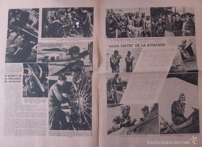 Coleccionismo de Revistas y Periódicos: LA VANGUARDIA -AÑO 1937-GUERRA CIVIL: ESPECIAL DEDICADO A LA AVIACION REPUBLICANA - Foto 3 - 57936844