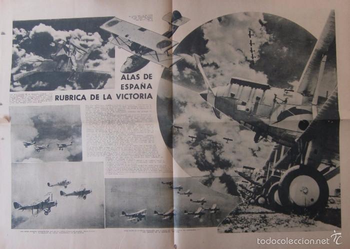Coleccionismo de Revistas y Periódicos: LA VANGUARDIA -AÑO 1937-GUERRA CIVIL: ESPECIAL DEDICADO A LA AVIACION REPUBLICANA - Foto 4 - 57936844