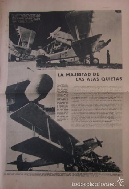 Coleccionismo de Revistas y Periódicos: LA VANGUARDIA -AÑO 1937-GUERRA CIVIL: ESPECIAL DEDICADO A LA AVIACION REPUBLICANA - Foto 6 - 57936844