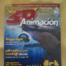 Coleccionismo de Revistas y Periódicos: 3D Y ANIMACION Nº18. Lote 55370599