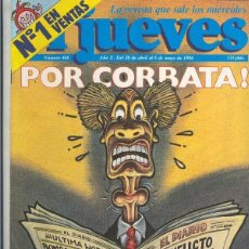 Coleccionismo de Revistas y Periódicos: EL JUEVES REVISTA NUMERO 0466. Lote 55452911