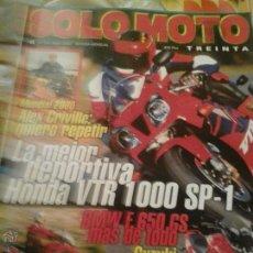 Coleccionismo de Revistas y Periódicos: SOLO MOTO ABRIL 2000. Lote 50958353
