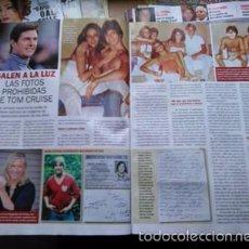Coleccionismo de Revistas y Periódicos: RECORTE TOM CRUISE. Lote 55531438