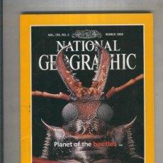 Coleccionismo de Revistas y Periódicos: NATIONAL GEOGRAPHIC 1998 MARCH: PLANET OF THE BEETLES . Lote 55541760