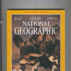 Coleccionismo de Revistas y Periódicos: NATIONAL GEOGRAPHIC MAYO 1999: LICAONE . Lote 55541958