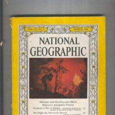 Coleccionismo de Revistas y Periódicos: NATIONAL GEOGRAPHIC MARCH 1960. Lote 55541959