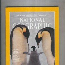 Coleccionismo de Revistas y Periódicos: NATIONAL GEOGRAPHIC 1996 MARCH: EMPERORS OF THE ICE . Lote 55542226