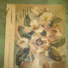 Coleccionismo de Revistas y Periódicos: VERTICE. REVISTA NACIONAL DE FALANGE. Lote 55572419