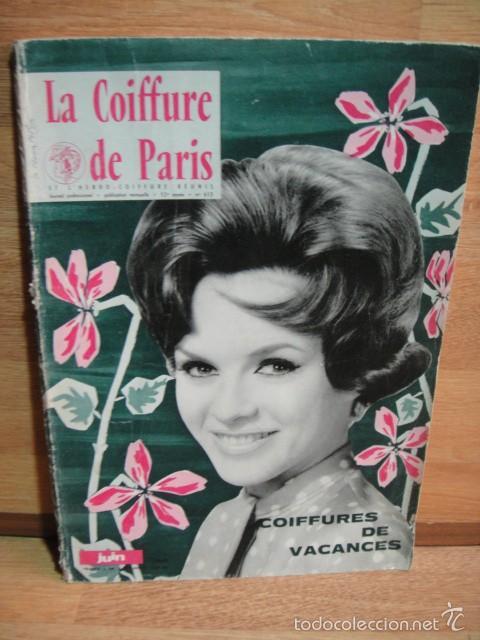 La Coiffure De Paris Junio De 1962 Revista Comprar Otras