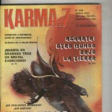 Coleccionismo de Revistas y Periódicos: KARMA 7 NUMERO 208. Lote 55591657