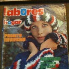 Coleccionismo de Revistas y Periódicos: LABORES DEL HOGAR ,NOVIEMBRE ,197,N.210. Lote 55692871