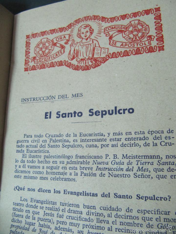 Coleccionismo de Revistas y Periódicos: REVISTA HOSANNA! MARZO 1948. EL SANTO SEPULCRO - Foto 2 - 55697015