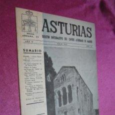 Coleccionismo de Revistas y Periódicos: BOLETIN INFORMATIVO DEL CENTRO ASTURIANO DE MADRID Nº 15 - JUNIO 1952. Lote 55710287