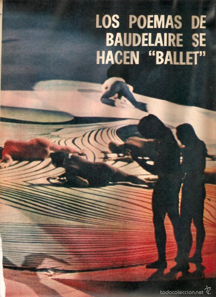 1969 BALLET POESIA BAUDELAIRE BEJART HUMOR BELLUS MINGOTE TEATRO CHICAS DE REVISTA RUBEN DARIO (Coleccionismo - Revistas y Periódicos Modernos (a partir de 1.940) - Otros)