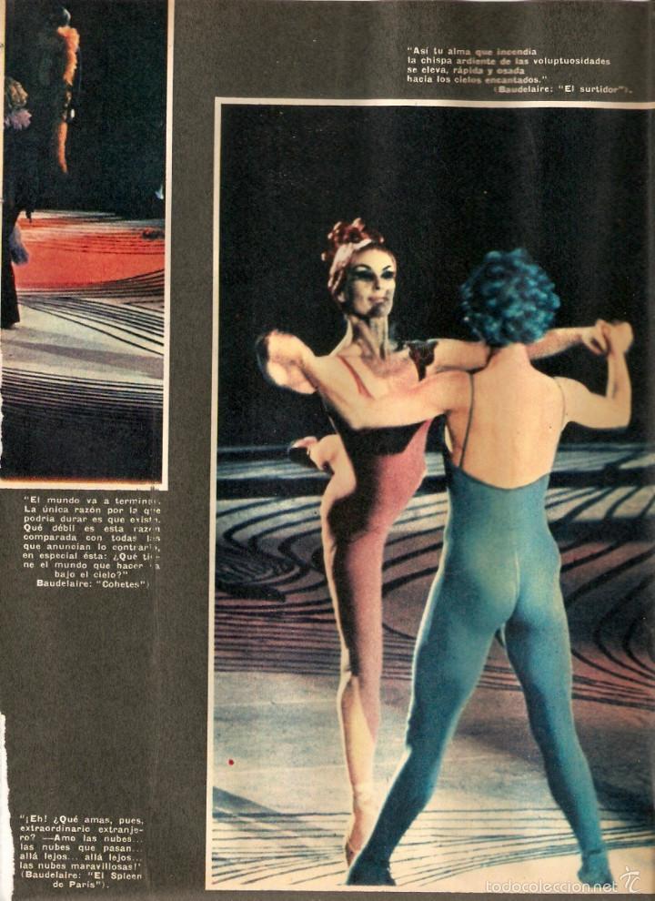 Coleccionismo de Revistas y Periódicos: 1969 BALLET POESIA BAUDELAIRE BEJART HUMOR BELLUS MINGOTE TEATRO CHICAS DE REVISTA RUBEN DARIO - Foto 2 - 55776510