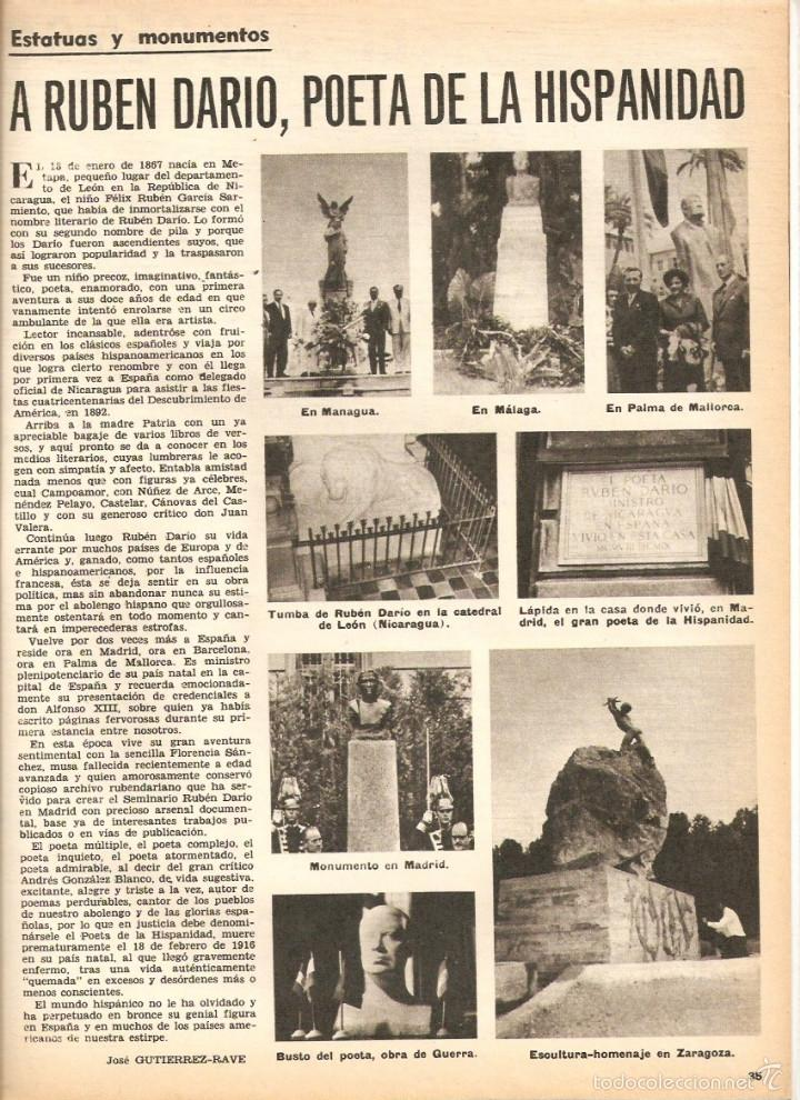 Coleccionismo de Revistas y Periódicos: 1969 BALLET POESIA BAUDELAIRE BEJART HUMOR BELLUS MINGOTE TEATRO CHICAS DE REVISTA RUBEN DARIO - Foto 4 - 55776510
