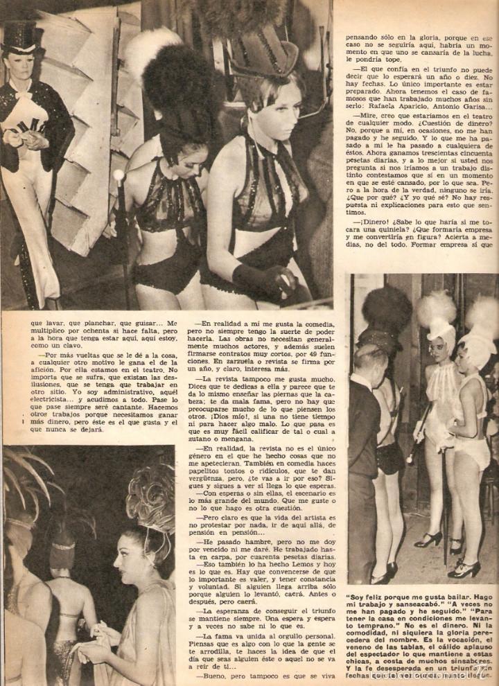 Coleccionismo de Revistas y Periódicos: 1969 BALLET POESIA BAUDELAIRE BEJART HUMOR BELLUS MINGOTE TEATRO CHICAS DE REVISTA RUBEN DARIO - Foto 6 - 55776510