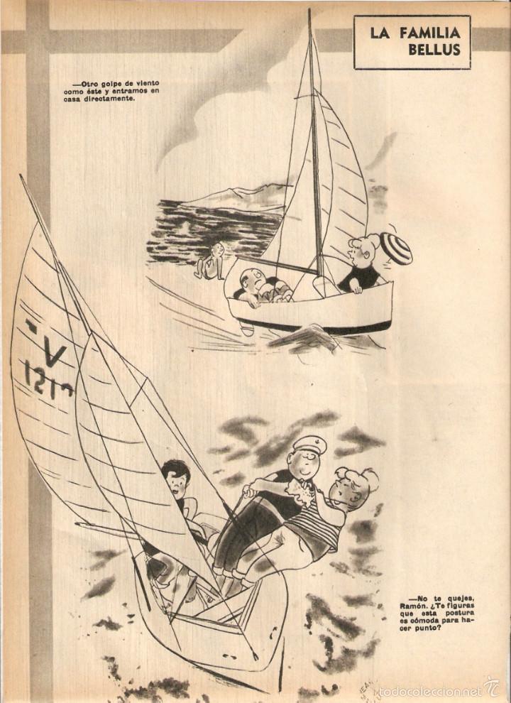 Coleccionismo de Revistas y Periódicos: 1969 BALLET POESIA BAUDELAIRE BEJART HUMOR BELLUS MINGOTE TEATRO CHICAS DE REVISTA RUBEN DARIO - Foto 7 - 55776510