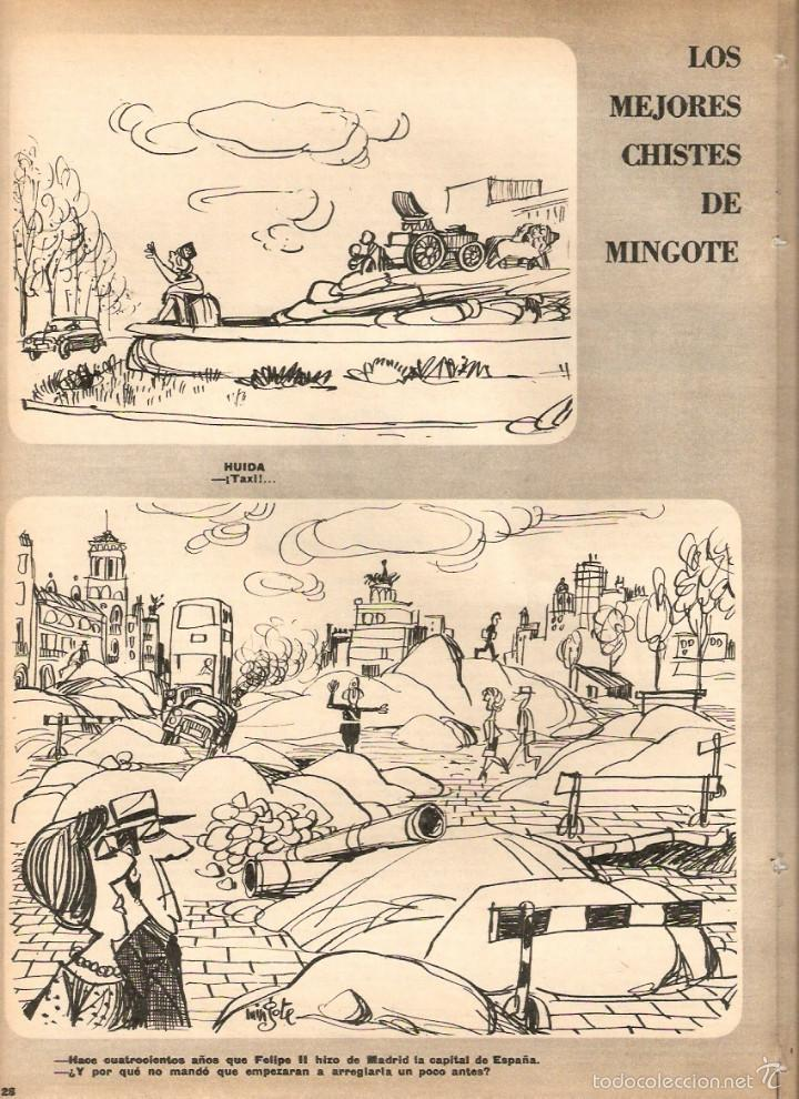 Coleccionismo de Revistas y Periódicos: 1969 BALLET POESIA BAUDELAIRE BEJART HUMOR BELLUS MINGOTE TEATRO CHICAS DE REVISTA RUBEN DARIO - Foto 8 - 55776510