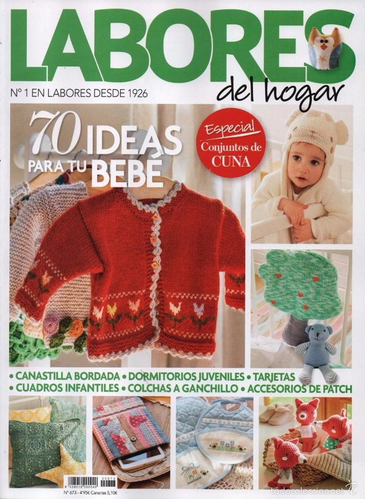 Labores del hogar n 673 en portada 70 ideas comprar for Revista ideas para tu hogar