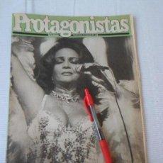 Coleccionismo de Revistas y Periódicos: REVISTA PROTAGONISTAS- SARA MONTIEL (PRESENTACION EN EL TEATRO LA LATINA)- MARILYN MONROE - DALI .... Lote 57226538