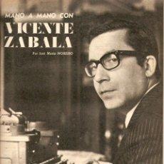 Coleccionismo de Revistas y Periódicos: AÑO 1969 GUIA SUPERVIVENCIA INDIOS CHACO SALTEÑO HUMOR BELLUS MINGOTE KIRAZ DIBUJO VICENTE ZABALA. Lote 55797169