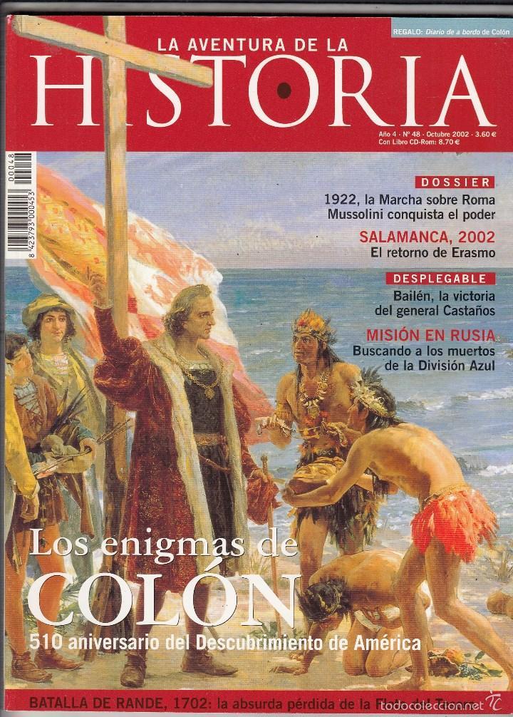 REVISTA AVENTURA DE LA HISTORIA Nº 48 AÑO 2002. MUSSOLINI CONQUISTA EL PODER. (Coleccionismo - Revistas y Periódicos Modernos (a partir de 1.940) - Otros)
