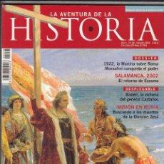Coleccionismo de Revistas y Periódicos: REVISTA AVENTURA DE LA HISTORIA Nº 48 AÑO 2002. MUSSOLINI CONQUISTA EL PODER.. Lote 55806230