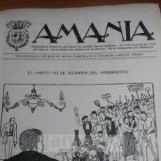 Coleccionismo de Revistas y Periódicos: REVISTAS AMANIA Y NUEVA AMANIA,1916-1917 ANTI CACIQUISTA,DEFENSOR DE VILLARCAYO Y SU DISTRITO BURGOS. Lote 55819933