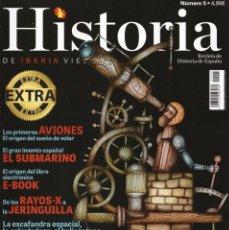 Coleccionismo de Revistas y Periódicos: HISTORIA DE IBERIA VIEJA EXTRA N. 5 - INVENTORES (NUEVA). Lote 56418231