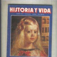 Coleccionismo de Revistas y Periódicos: HISTORIA Y VIDA NUMERO 208 (NUMERADO 1 EN INTERIOR CUBIERTA(. Lote 55894799