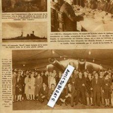 Coleccionismo de Revistas y Periódicos: REVISTA AÑO 1928 AYUNTAMIENTO DE VIGO EN ACORAZADO HOOD EL ROYALTY DE SANTANDER TOMBORRADA DONOSTIA. Lote 55897463