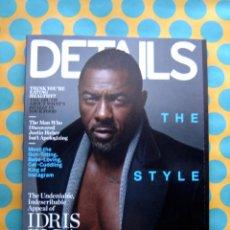 Coleccionismo de Revistas y Periódicos: DETAILS MAGAZINE - IDRIS ELBA / THE STYLE ISSUE (SEPTIEMBRE 2014). Lote 55914394