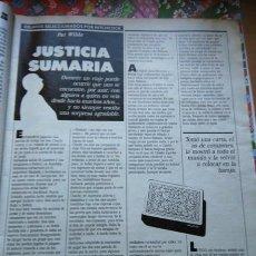 Coleccionismo de Revistas y Periódicos: RECORTE RELATOS SELECCIONADOS POR ALFRED HITCHCOCK. Lote 56015588